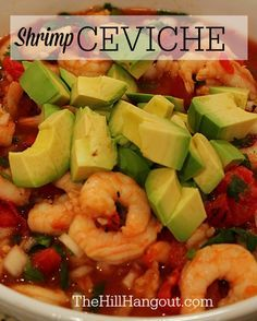 Shrimp Ceviche from TheHillHangout.com