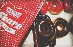 #food #chocolate #donat #pink #brown #valentine