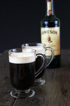 Not only should you try this Irish Coffee...but you should check out the post because my munchkin is on it :)