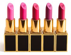 Tom Ford Preston, Justin, Cooper, Jack, Francesco Lip Colors Tom Ford Lips & Boys Lipstick ($32.00 for 0.07 oz.) is segmented into color families, and this
