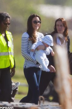 Prince George Takes His First Family Vacation — See the Exclusive Pictures!