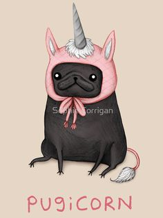 Image result for pugicorn