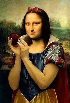 Funny Mona Lisa Parodies #Joconde