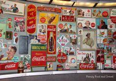 Coca Cola Atlanta Georgia #memorabilia #museum