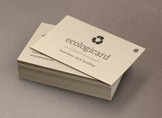 Eco Friendly business cards - I like the flower petals | Business ...