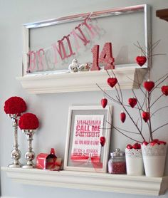 Valentines display idea to use in a library