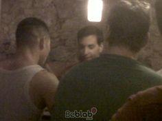 David Meca cenando en Tatami Room Barcelona
