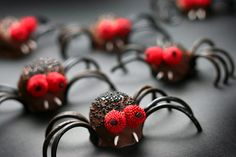 Great creepy snack for the kids!