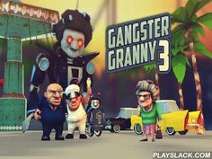 Gangster Granny 3  Android Game - playslack.com , assist a spry grandparent combat the detective and a bad firm that concepts over the world. Use impressive ammunitions and ruin foes. journey with a gallant grandparent through beautiful areas in this entertaining game for Android. Be mindful, the detective and many other criminals want to hurt the grandparent. Fortunately grandparent is not vulnerable. She has a cooling weapon and other different ammunitions. Shoot gatherings of ambushing…
