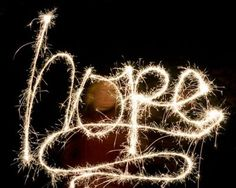 sparklers of hope @Amanda Snelson Holtzclaw    Since you can do this maybe we can use it for something this year!!