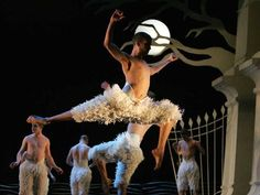 Dancer Matthew Bourne as Billy Elliot grown up. One of my favorite movie moments of all time. It is truly breathtaking.