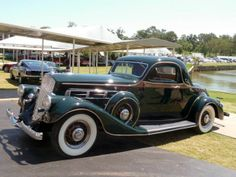 1935 Pierce-Arrow 845 3-Window-Coupe...Fancy....