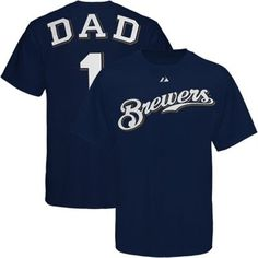 Majestic Milwaukee Brewers Father's Day T-Shirt
