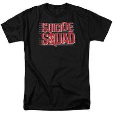 Suicide Squad Mugshot Lineup Men's Black Tshirt