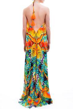 Shop Tropical Printed Dresses and Designer Luxury Dresses - Shahida Parides