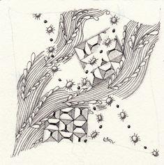 Die Daily New Challenge - ElaToRium & Zentangle Zentangle Patterns, Zentangles, Inktober, Challenges, Cards, Zentangle Drawings, To Draw, Zentangle, Maps