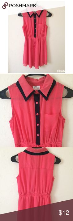 Gorgeous Dress Material: Shell, contrast & lining: 100% Polyester. Perfect for Easter! Peachy pink bebe Dresses Casual
