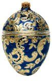 Museum Collection Fabergé Memory of Azov Egg Glass Ornament-Small