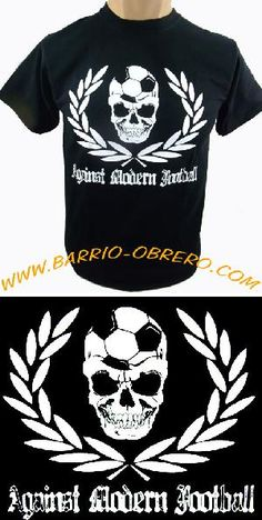 ref. CAM-1.520 AGAINST MODERN FOOTBALL Pedidos (worldwide orders): www.barrio-obrero.com