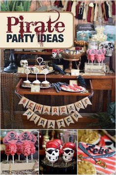 Pirate Birthday Party Ideas for Boys
