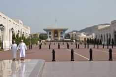Oman | Al Alam Palace, Muscat. credit: gael le dortz. view on Fb https://www.facebook.com/OmanPocketGuide #oman #traveltooman #destination