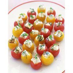 Tomates farcies champignons feta