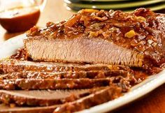 Slow cooker brisket, Brisket and Weeknight dinners on Pinterest