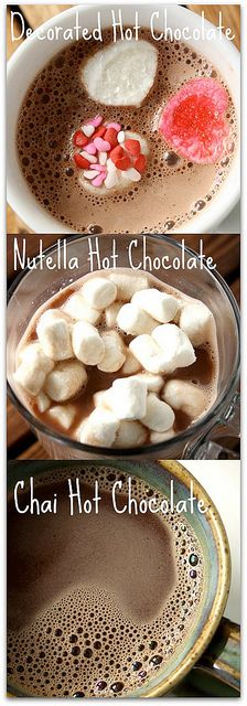 Valentine's Day Hot Chocolate Ideas