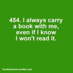 Well do ebooks on my phone count lols?