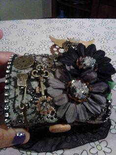 altered steampunk balsa box