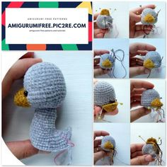 We share a goofy goose pattern. You can visit our website for beautiful amigurumi free patterns. Crochet Patterns Amigurumi, Crochet Toys, Free Crochet, Kinds Of Triangles, Crochet Chicken, First Finger, Stuffed Animal Patterns, Double Crochet, Doll Toys