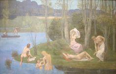 'Summer' by Pierre Puvis de Chavannes, 1891 - Pierre Puvis de Chavannes — Wikipédia