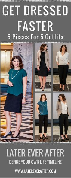 I decided to take 5 pieces from my closet that I truly loved and make 5 outfits out of them for the whole work week. I also decided that I would mix and match any shoes or jewelry that I owned and I wouldn't limit that piece of the outfit. What to wear to work. Office Clothing. Work wardrobe. Office wardrobe. MM LaFleur. 5 key outfits. 5 key pieces. Work outfit for women.