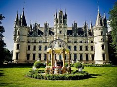 Château de Challain, France. | 21 Fairytale Castles You Can Actually Stay At