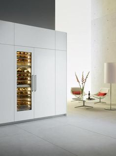 More beautiful wine storage units from Miele.
