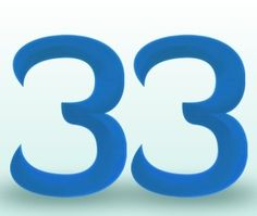 ∆ Numbers... The Numerology Meaning of the Master Number 33 | Numerology.com