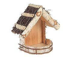 Mangeoire à oiseaux bois de bouleau, naturel - L26 Crochet Crown, Kids Wood, Baby Crafts, Bird Houses, Bird Feeders, Wood Furniture, Squirrel, Wood Crafts, Wood Projects