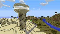 Orphea2012 Youtube et Minecraft: Exclusivité Minecraft   Ma tour signature sur le s...