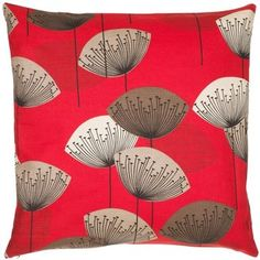 Sanderson Dandelion Clocks Cushion, Aqua | Dandelion clock, Cushions ...