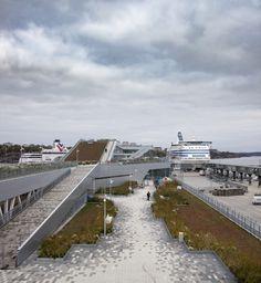Värtaterminalen / C.F. Møller Architects