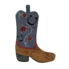 Boot Christmas Stocking Patterns | Stockings - Where to Buy Stockings at Linens 'n Things