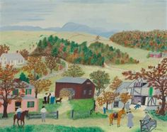 Grandma Moses - her story inspires me - gives me hope - goals, dreams for next season of life
