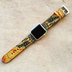 Handmade Straps Apple Watch Leather Band Strap by RuslieStraps