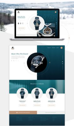 Creation of template design for Jaeger-LeCoultre websiteTemplate project I have done on Adobe XD. Ecommerce Website Design, Website Design Layout, Web Layout, Layout Design, Modern Web Design, Ad Design, Graphic Design Art, Interface Design, Web Design Inspiration