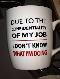 A gallery of great funny quotes. Laughter is medicine, they say so enjoy the humor of these funny quotes, and share these pictures with family and friends. Funny Coffee Mugs, Funny Mugs, Stars Disney, Humor Grafico, Work Humor, Work Funnies, Funny Office Humor, Funny Humor, Bucket Lists