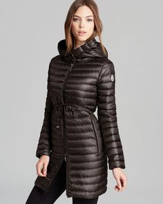 Moncler Barbel Long Down Coat