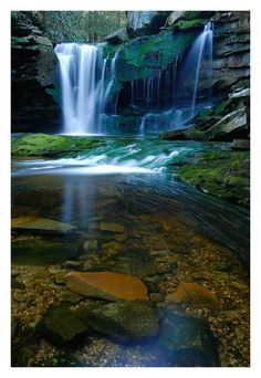 Elakala Falls in Blackwater State Park, WV -- (photo by Joe Rossbach)