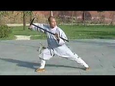 Bak Sil Lum (Northern Shaolin) - Dragon Head Walking Cane Sample - YouTube