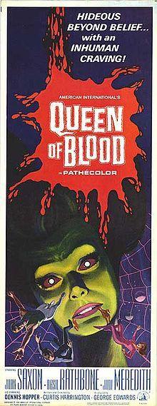 Queen Of Blood 1966  starring John Saxon, Basil Rathbone, Dennis Hopper, Judi Meredith