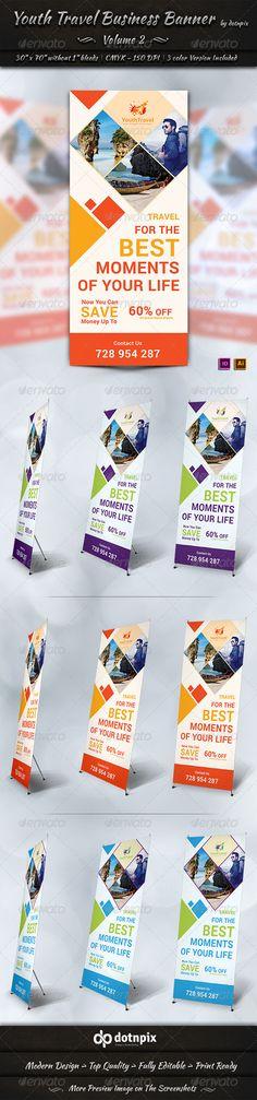 Travel / Tourism Business Banner | Volume 3